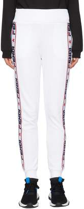 Fendi Sport x FILA logo stripe outseam sweatpants