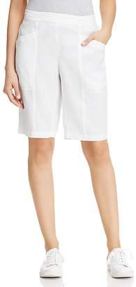 Eileen Fisher Organic Linen Bermuda Shorts