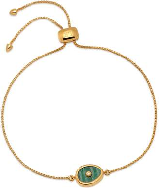 Lola Rose London - Curio Diamond Mini Oval Slider Bracelet Amazonite