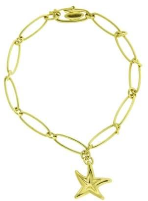 Tiffany & Co. Elsa Peretti 18K Yellow Gold Starfish Bracelet