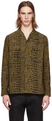 Wacko Maria Yellow Corduroy Croc Shirt