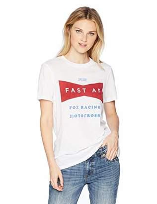 Fox Junior's Boyfriend FIT Fast AF Short Sleeve Crew T-Shirt