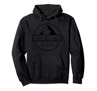 Apres ski squad hoodie for the snowboard team