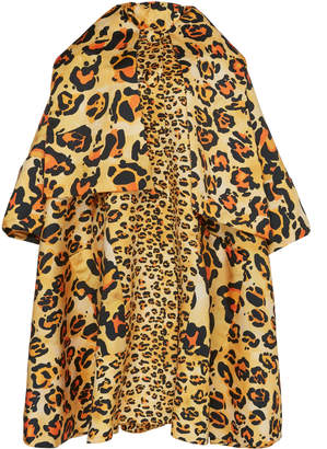 Richard Quinn Animal-Print Coat
