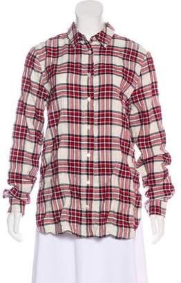 Jenni Kayne Sequoia Plaid Button-Up w/ Tags