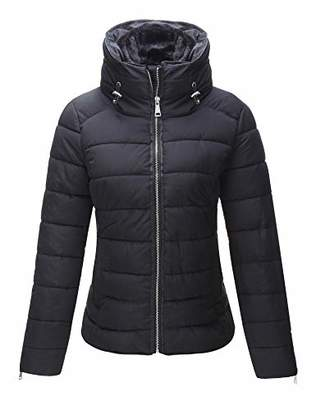 Bellivera Women's Quilted Lightweight Jacket for Winter and Fall