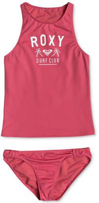 Roxy 2-Pc. Tankini Swimsuit, Big Girls
