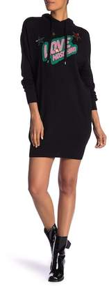 Love Moschino Vestito Plexi Knit Pullover
