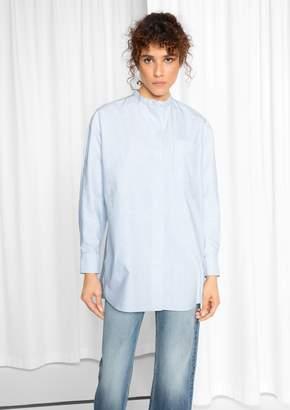 Mandarin Cotton Shirt