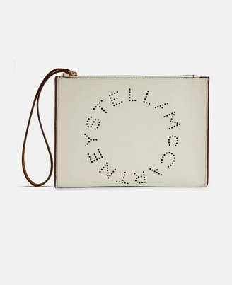 Stella McCartney stella logo clutch