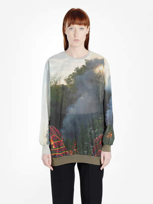 Bless MULTICOLOR HOLIDAY FIRE LONGSLEEVE TEE