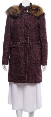 Allegri Hooded Knee-Length Coat