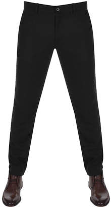 Farah Elm Wool Trousers Black
