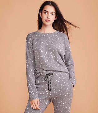 Lou & Grey Sundry Stars Basic Sweatshirt