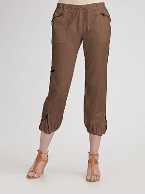 DKNY Stretch Twill Cargo Pants
