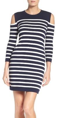 Women's Trina Turk Tango Stripe Cotton Knit Dress $148 thestylecure.com