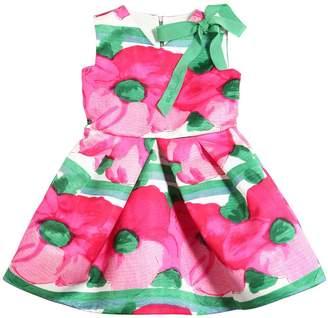 Mimisol Flowers Printed Duchesse Dress