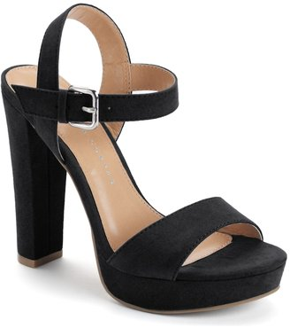 LC Lauren Conrad Bow Women's High Heel Sandals $59.99 thestylecure.com