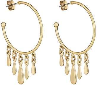 Jules Smith Designs WOMEN'S CHARM-TIPPED HOOP EARRINGS