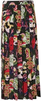 Aspesi Pleated Maxi Skirt