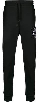 Love Moschino drawstring track logo pants