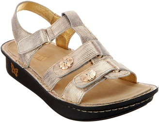 Alegria Leather Multi-Strap Sandals w/ Backstrap - Kleo