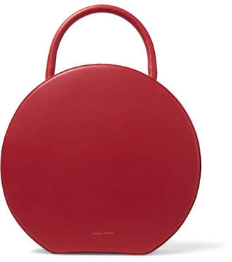 Mansur Gavriel - Circle Leather Tote - Red $1,095 thestylecure.com