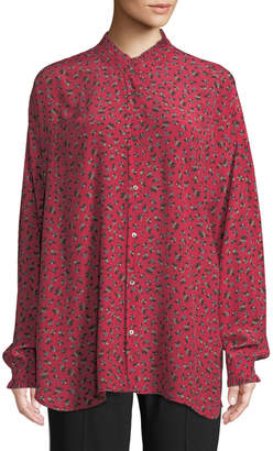 Zadig & Voltaire Tamis Liberty Floral-Print Button-Front Blouse