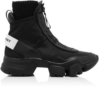 Givenchy Jaw Calfskin High-Top Sneakers