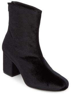 Free People Cecile Velvet Booties/3""