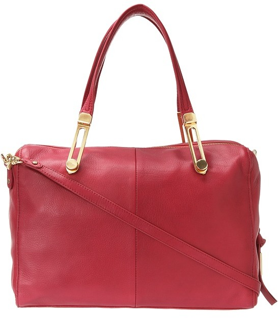 Foley + Corinna Slider Satchel (Lobster) - Bags and Luggage