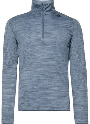 adidas Sport Ultimate Tech Mélange Climalite Half-Zip Top
