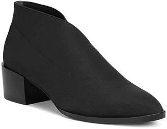 Donald J Pliner Women's Daved Almond Toe Elastic Ankle Booties