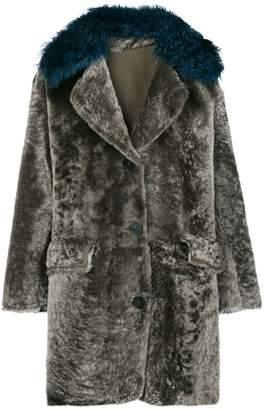 Sylvie Schimmel contrast collar coat