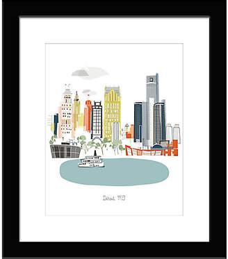 One Kings Lane Albie Designs - Detroit Art