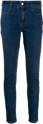 Stella McCartney All Is Love star-embossed skinny jeans