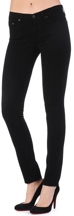 AG Jeans The Sateen Prima - Super Black