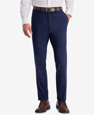 Kenneth Cole Reaction Men Slim-Fit Shadow Check Dress Pants