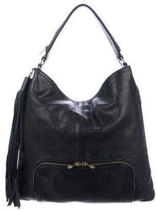Givenchy Leather Tassel Hobo Black Leather Tassel Hobo