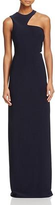 AQUA Cutout-Shoulder Gown - 100% Exclusive $218 thestylecure.com