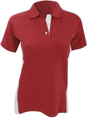 Finden & Hales Womens/Ladies Sports Polo T-Shirt (XL)