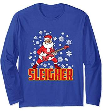 Christmas Sleigher Santa Claus Long Sleeve Shirt
