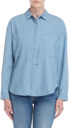Derek Lam Pocket Chambray Shirt