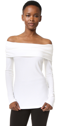 Derek Lam Off Shoulder Top $995 thestylecure.com