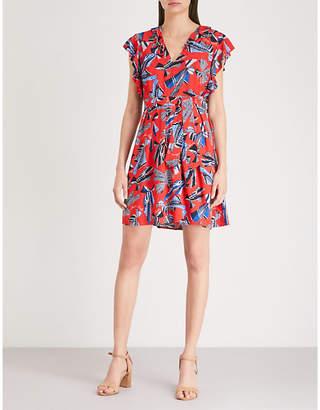 Claudie Pierlot Graphic-print crepe dress