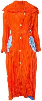 Tsumori Chisato crinkled belted dress