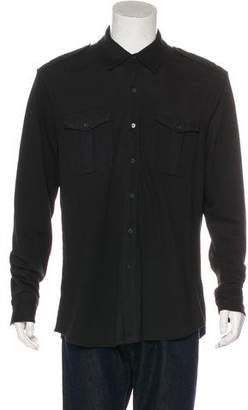Ralph Lauren Black Label Military Knit Shirt