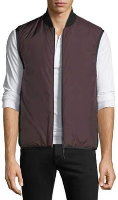 Theory Men's Greene Zip-Front Puffer Vest