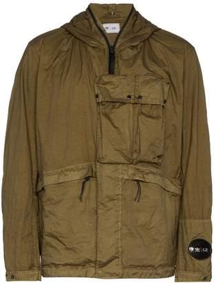 adidas x C. P. Company Explorer goggle hood jacket