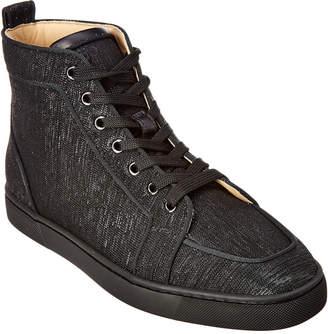 Christian Louboutin Lurex Sneaker